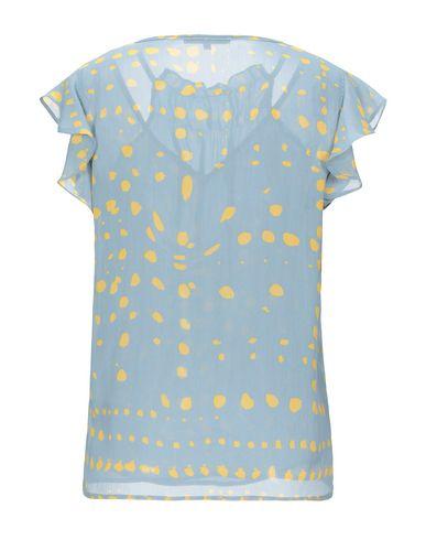 Фото 2 - Женскую блузку KORALLINE лазурного цвета