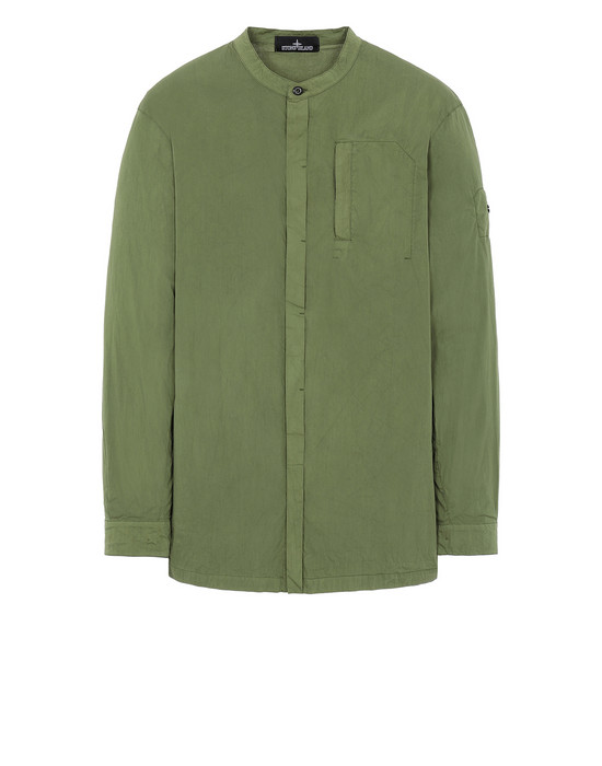 STONE ISLAND SHADOW PROJECT 10206 TUNIC SHIRT Long sleeve shirt Man Olive Green