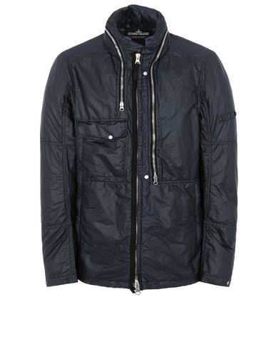 STONE ISLAND SHADOW PROJECT 41005 FIELD JACKET Giubbotto Uomo Nero EUR 613