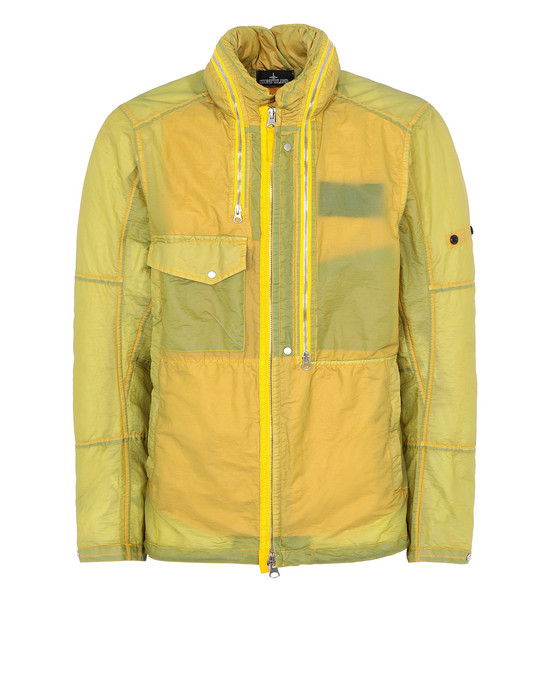 STONE ISLAND SHADOW PROJECT 41005 FIELD JACKET Jacket Man Yellow