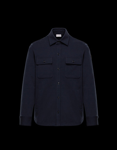 SHIRT Dark blue Category Long-sleeved shirts Man