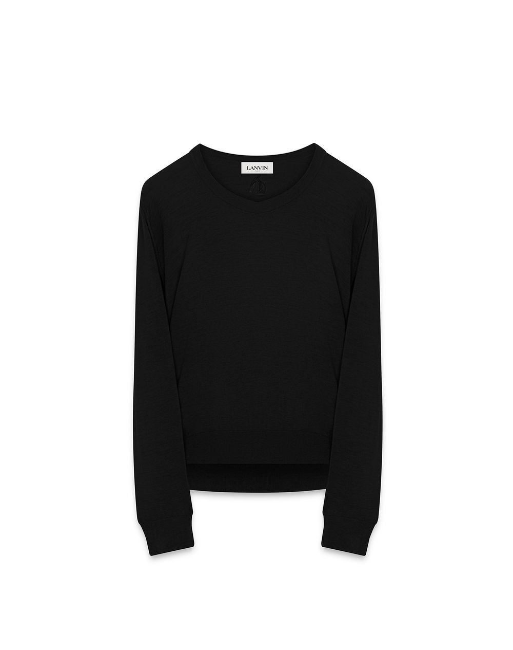 FINE WOOL AND COTTON SWEATER - Lanvin
