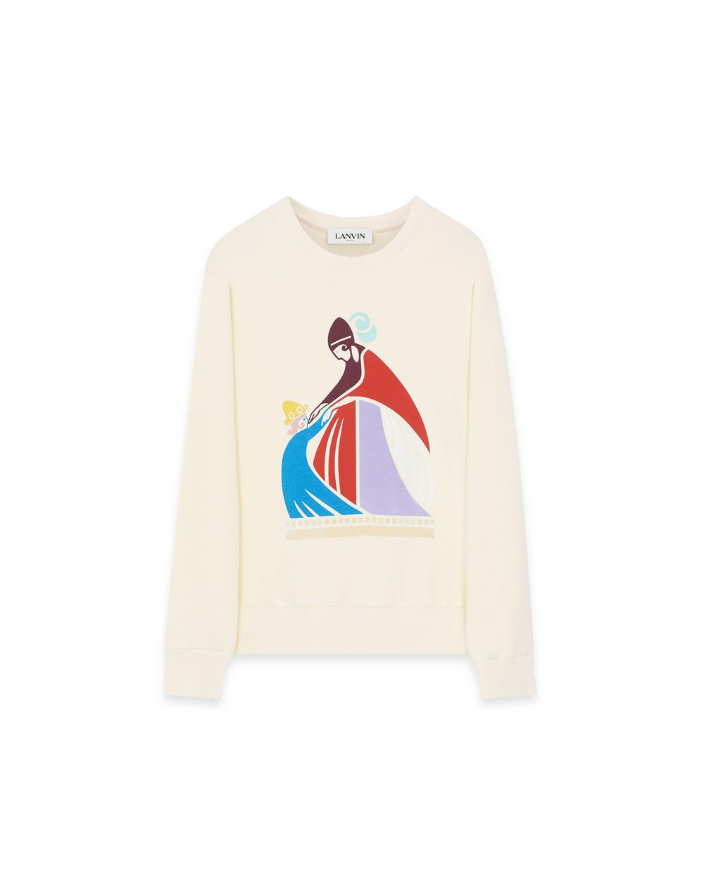 MOTHER AND CHILD PRINT SWEATSHIRT - Lanvin