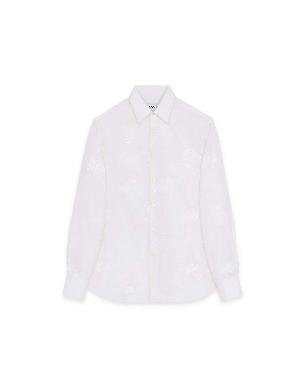 """MOTHER AND CHILD"" MOTIF SHIRT - Lanvin"