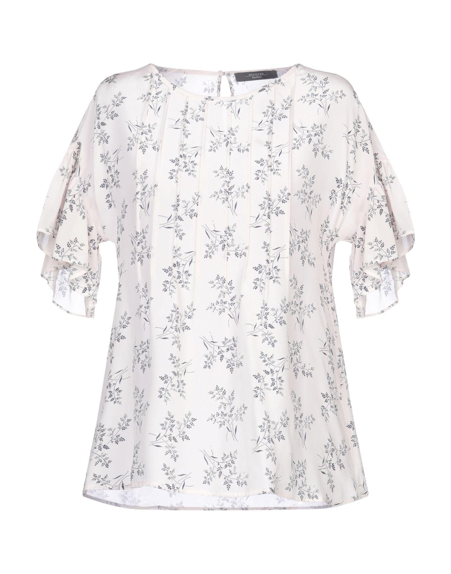 WEEKEND MAX MARA Блузка шифоновая блузка в цветочный принт