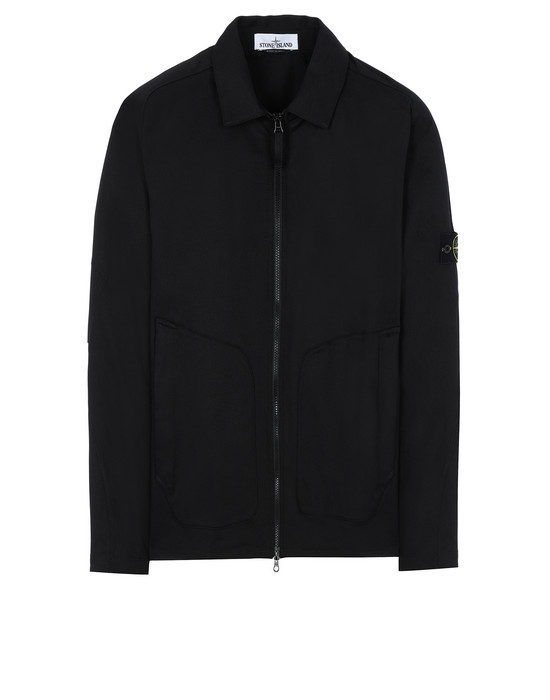STONE ISLAND 11905 OVER SHIRT Man Black