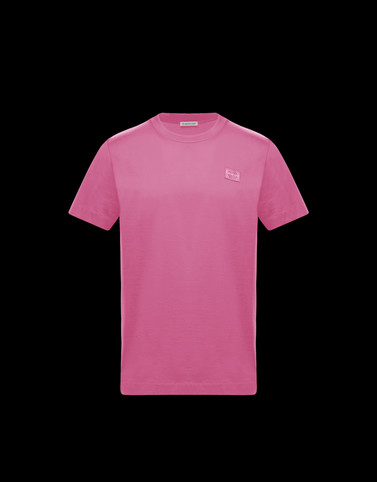 T-SHIRT Pink Category T-shirts Man