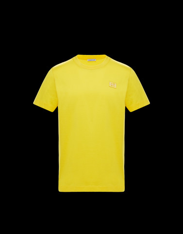 T-SHIRT Yellow Category T-shirts Man