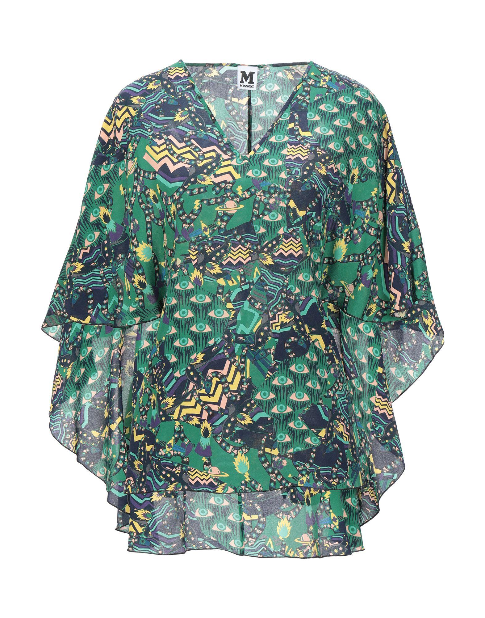 M MISSONI Блузка блузка женская tom farr цвет белый tw7583 50802 1 coll размер m 46