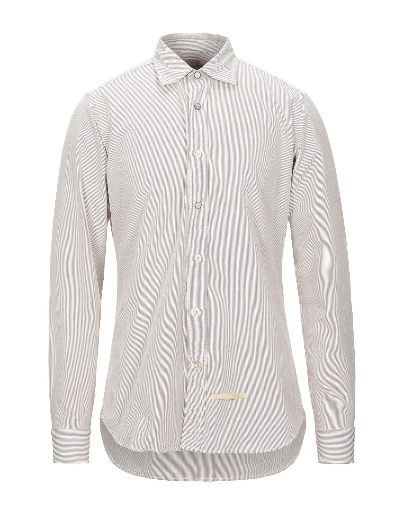 《セール開催中》TINTORIA MATTEI 954 メンズ シャツ ベージュ 40 コットン 100%