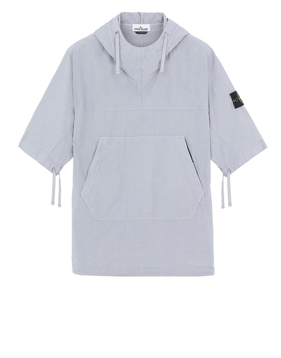 STONE ISLAND 12208 OVER SHIRT Man Dust Gray