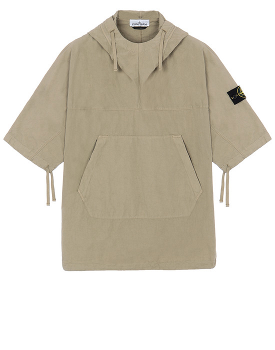 STONE ISLAND 12208 OVER SHIRT Man Dark Beige