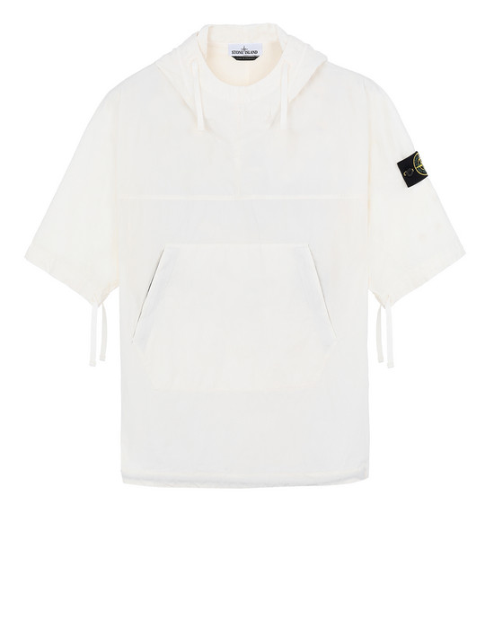 STONE ISLAND 12208 OVER SHIRT Man Ivory