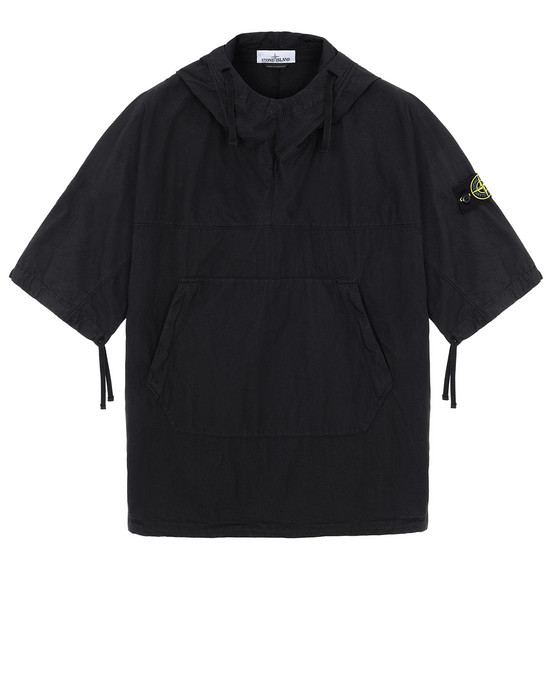 STONE ISLAND 12208 OVER SHIRT Man Black