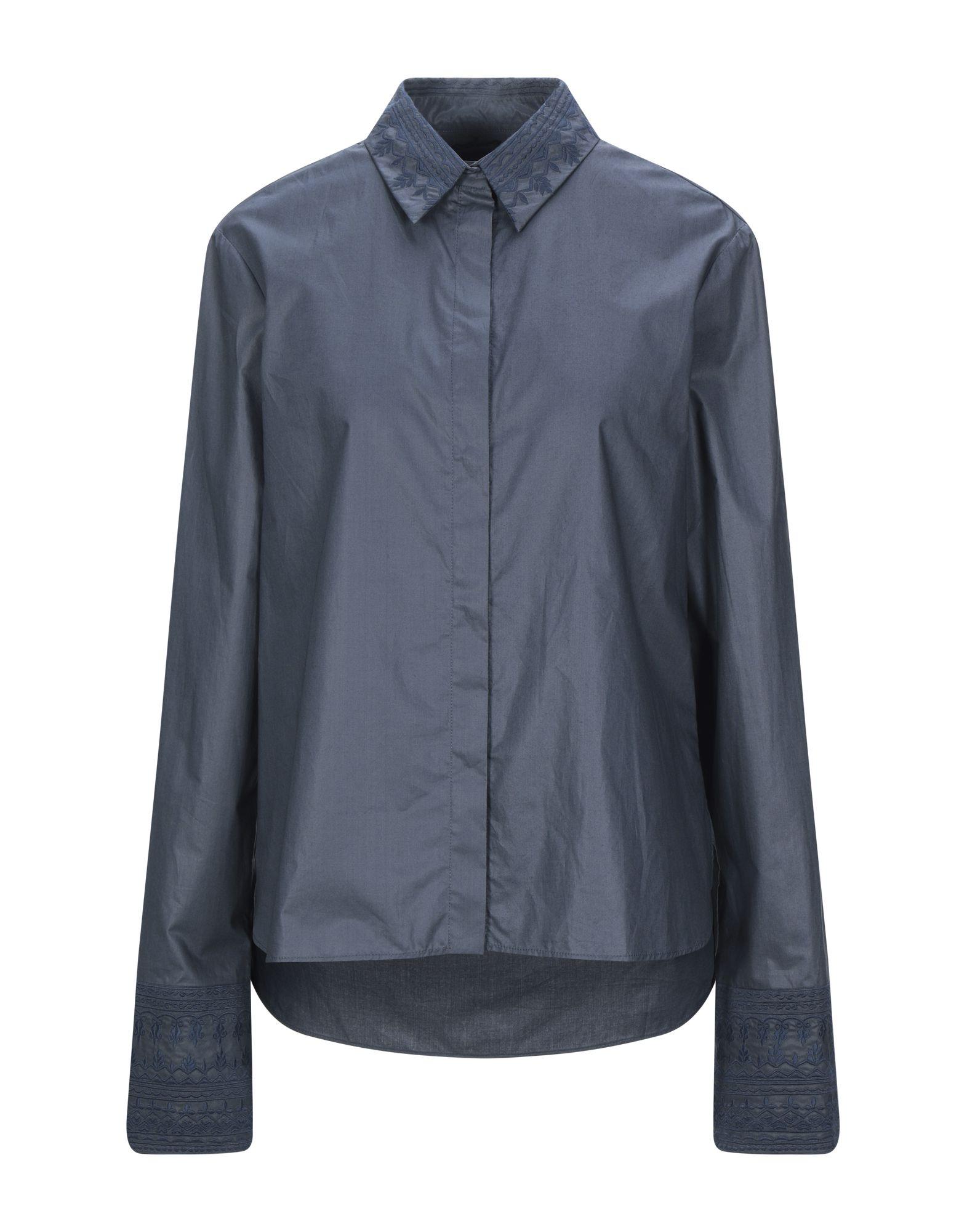 《セール開催中》NOON BY NOOR レディース シャツ ブルー 8 コットン 100%