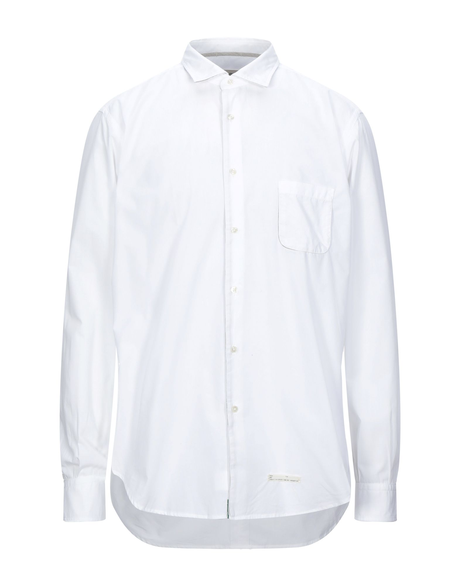 《セール開催中》TINTORIA MATTEI 954 メンズ シャツ ホワイト 42 コットン 100%