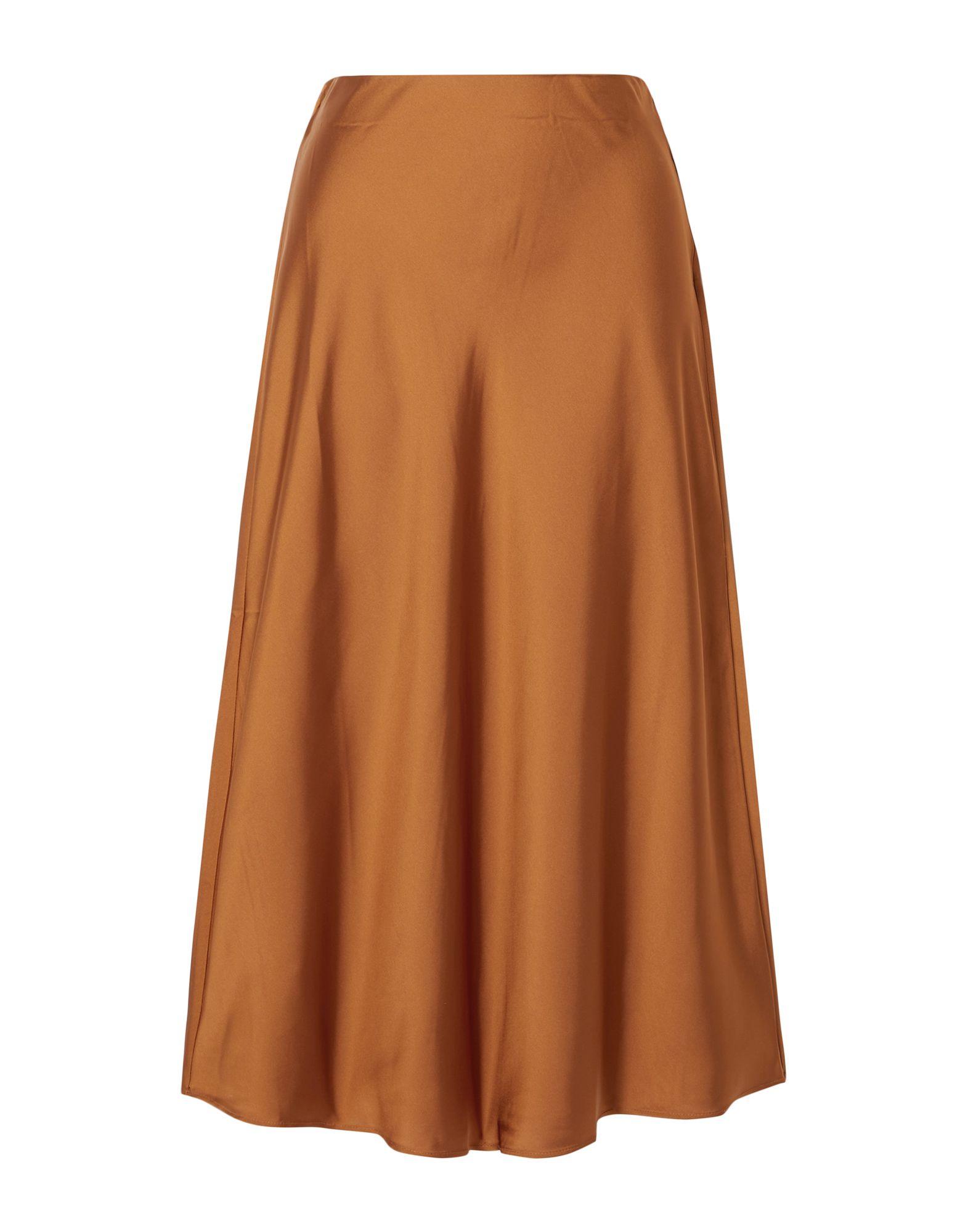 J.CREW 3/4 length skirts. unlined, crepe, no appliqués, solid color, elasticized waist, no pockets. 100% Polyester