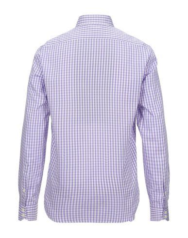 Фото 2 - Pубашка от BROOKSFIELD сиреневого цвета