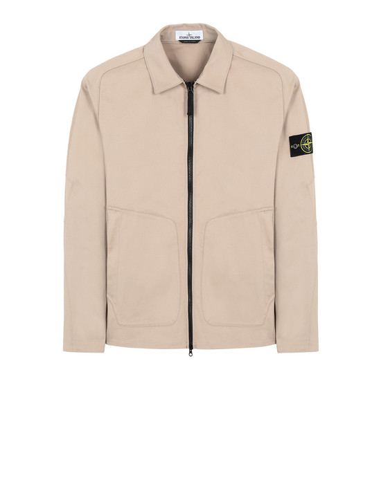 STONE ISLAND 11905 OVER SHIRT Man Dark Beige