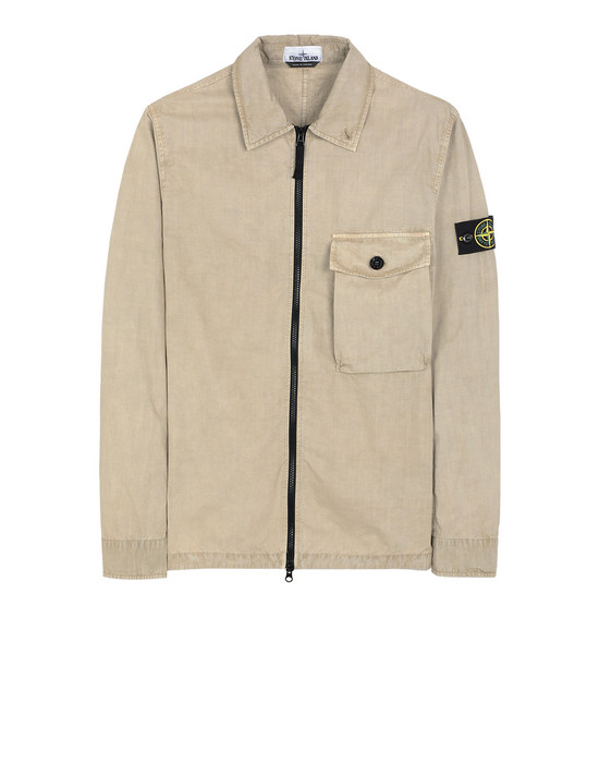 STONE ISLAND 114WN T.CO+OLD SURCHEMISE Homme Écorce