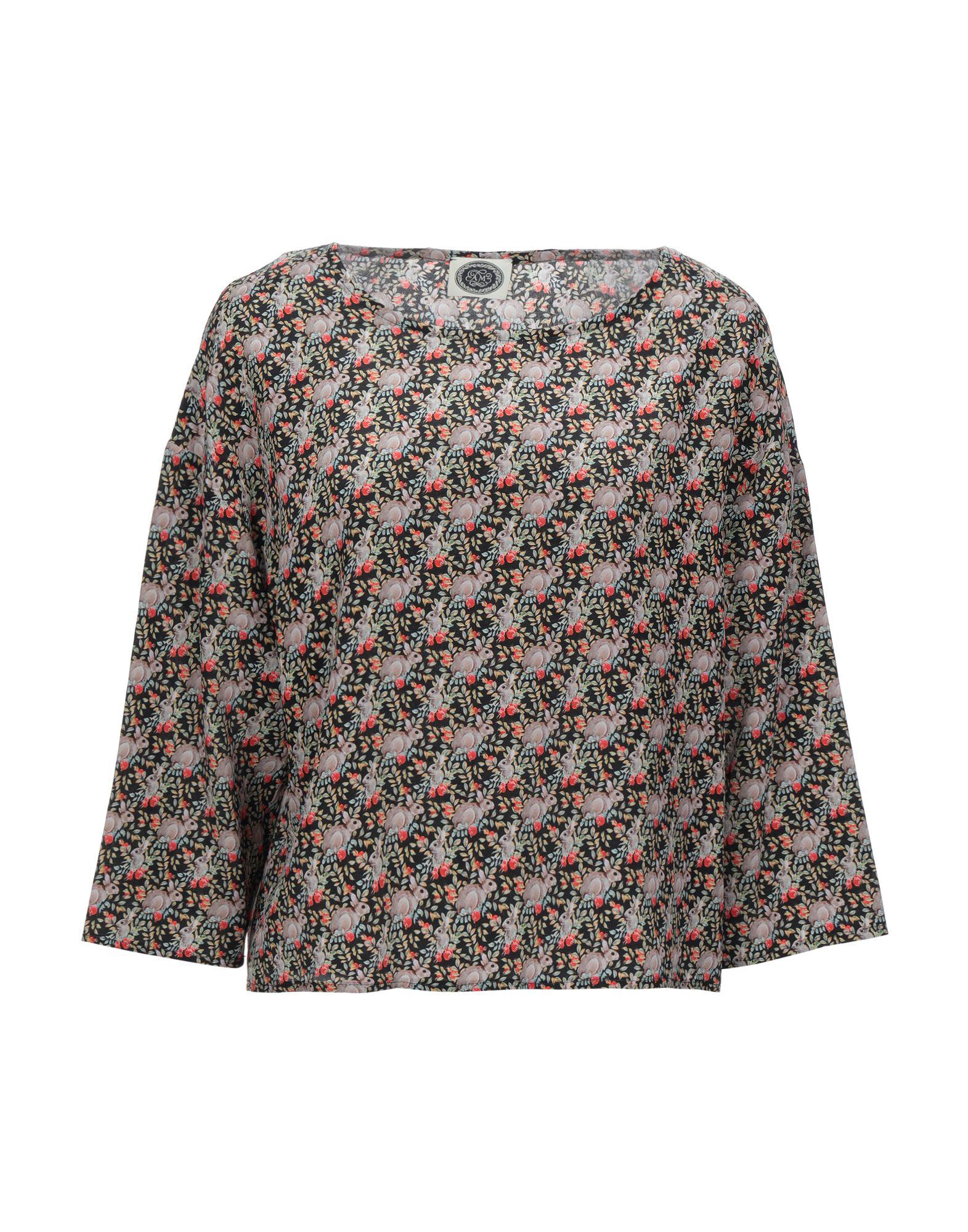 AM Блузка шифоновая блузка в цветочный принт