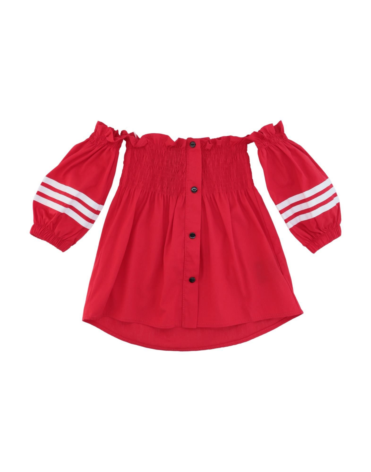 Naïce Kids' Blouses In Red