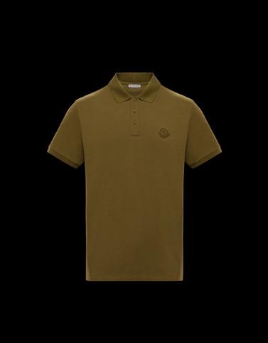 POLO衫 军绿色 Polo & shirts 男士