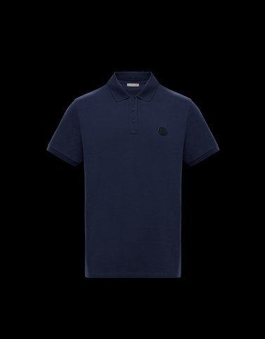 POLO Dark blue Shirts Man
