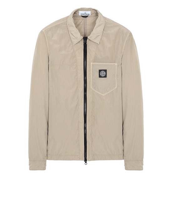 STONE ISLAND 106J2 NYLON TELA-TC OVER SHIRT Man Dark Beige
