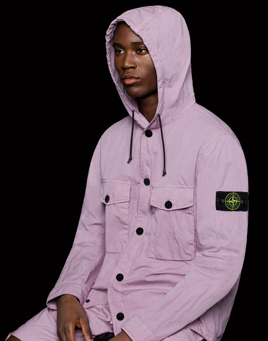 38918706ws - OVER SHIRTS STONE ISLAND