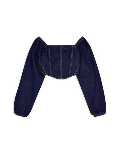 Джинсовая рубашка TOPSHOP 38922278VJ