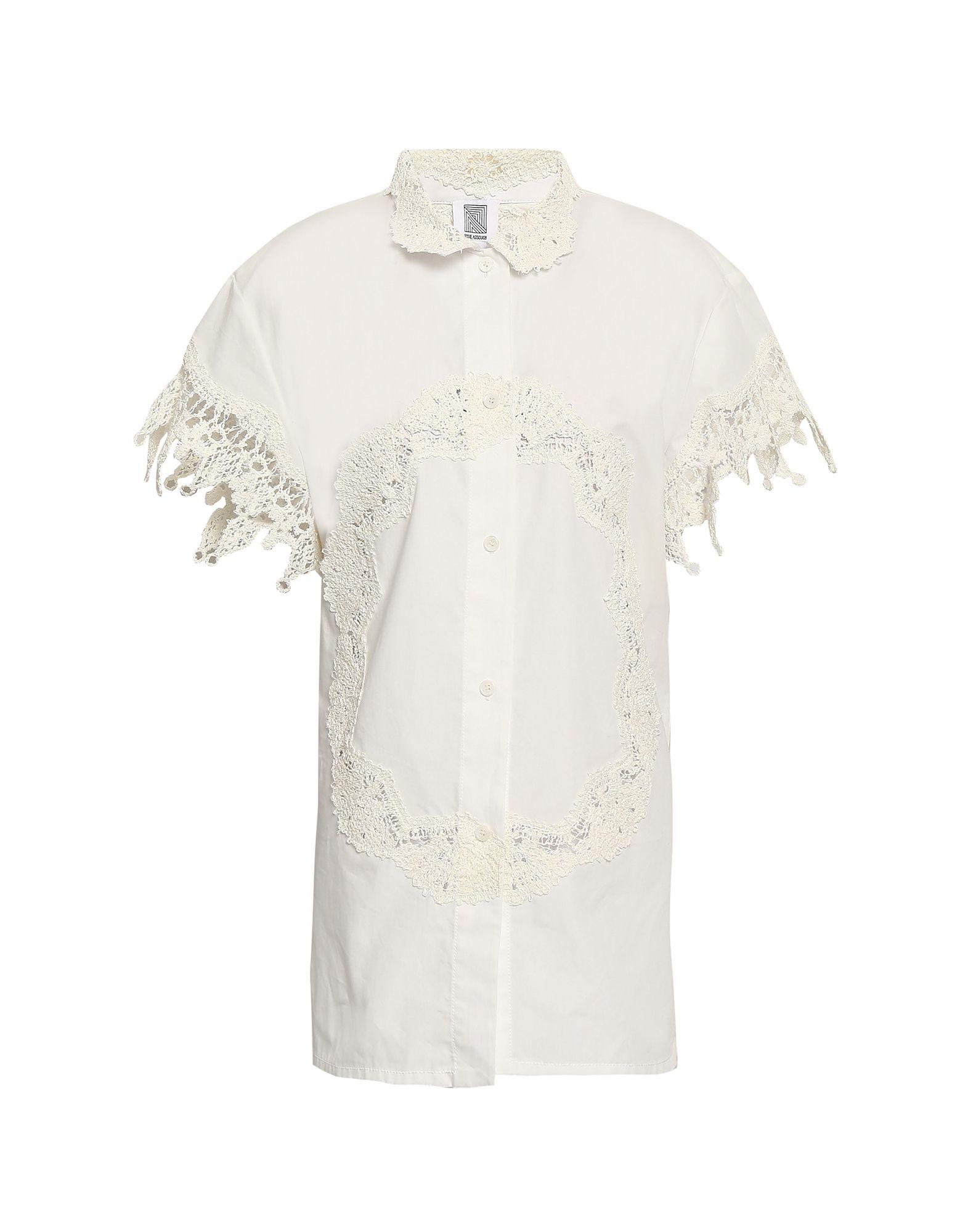 ROSIE ASSOULIN Pубашка rosie assoulin блузка