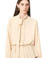 LANVIN Top Woman PUSSYBOW BUTTONED BLOUSE f