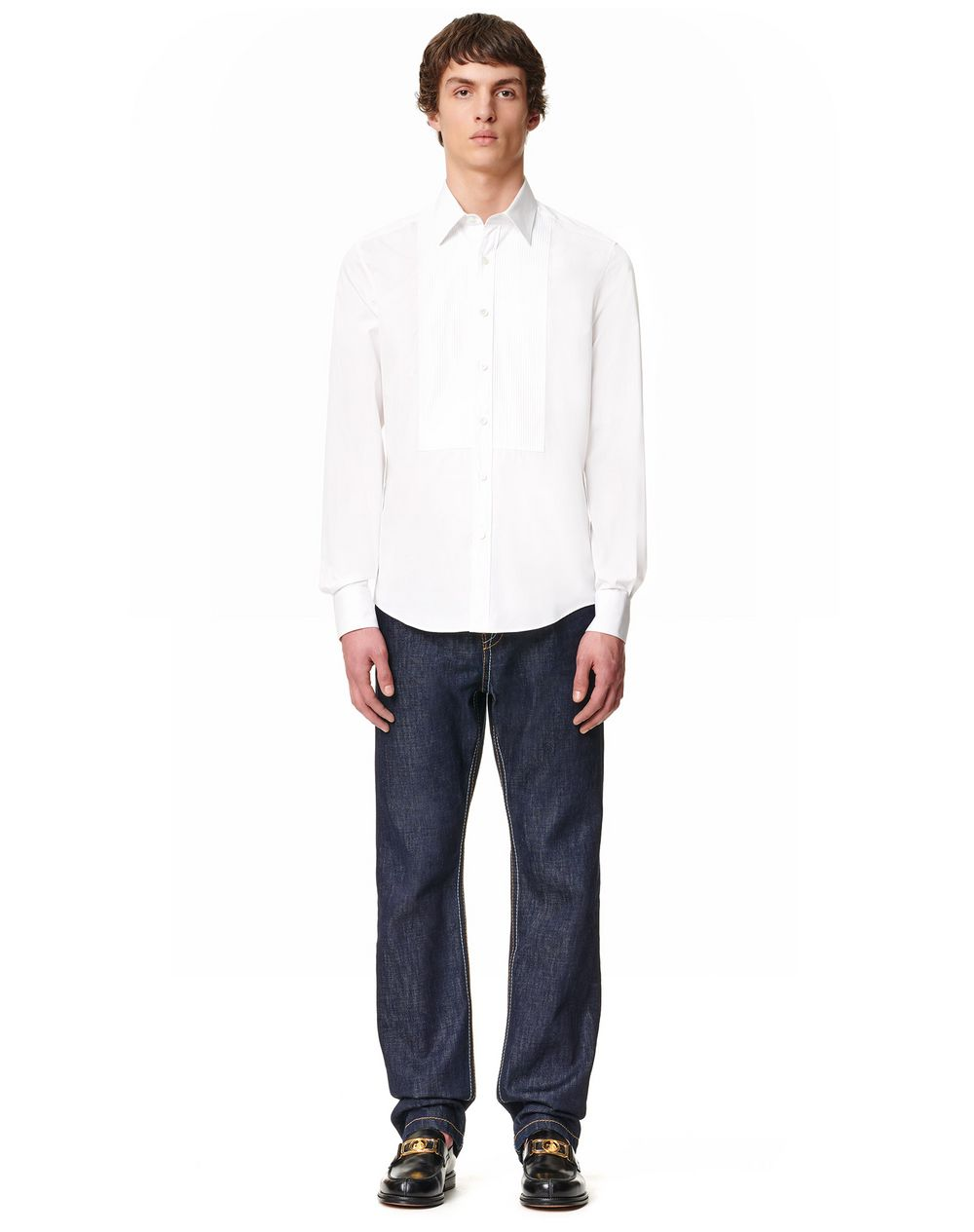 FITTED PLASTRON SHIRT - Lanvin