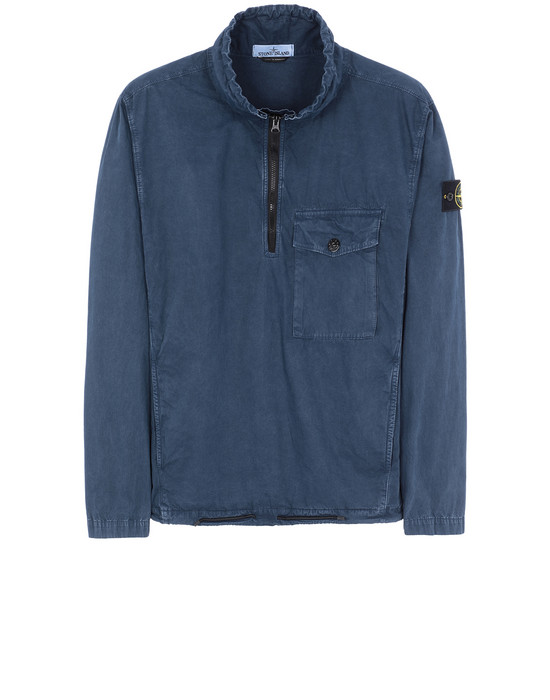 STONE ISLAND 113WN T.CO+OLD OVER SHIRT Man Marine Blue