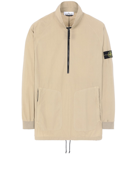 STONE ISLAND 10810 OVER SHIRT Man Dark Beige
