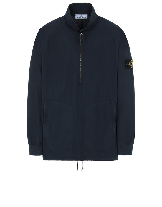 STONE ISLAND 10810 OVER SHIRT Man Blue