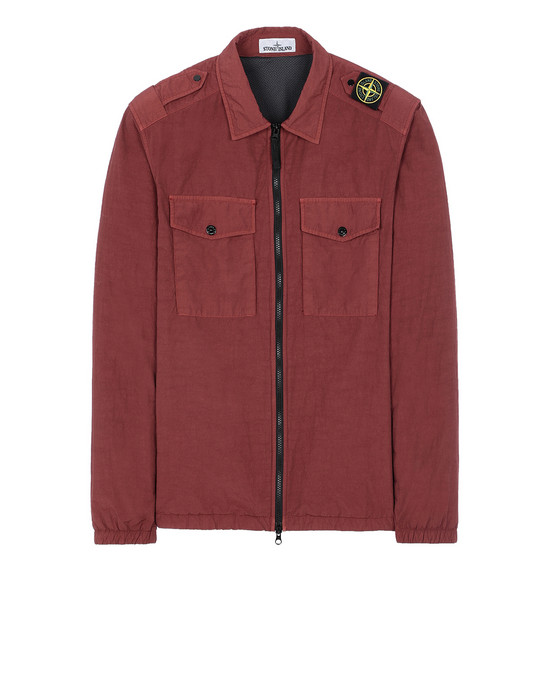 STONE ISLAND 11303 NASLAN LIGHT  Over Shirt Man Dark Burgundy
