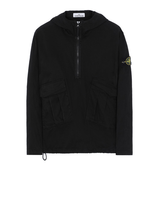 STONE ISLAND 10510 OVER SHIRT Man Black