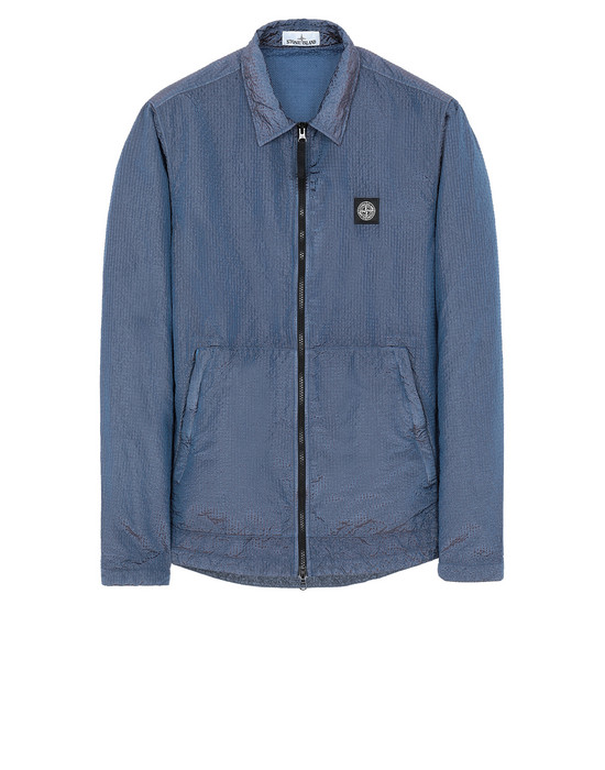 OVER SHIRT Man 11534 POLY-COLOUR FRAME-TC Front STONE ISLAND