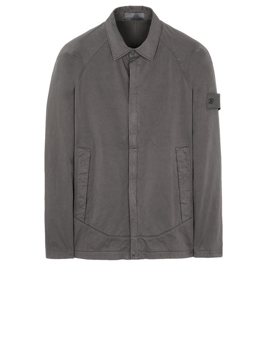 OVER SHIRT Man 116F4 GHOST PIECE Front STONE ISLAND