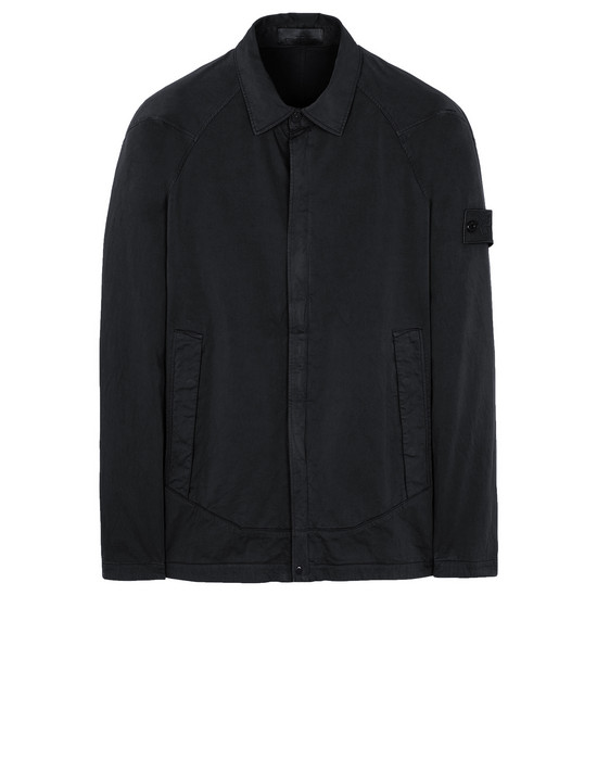 STONE ISLAND 116F4 GHOST PIECE OVER SHIRT Man Black