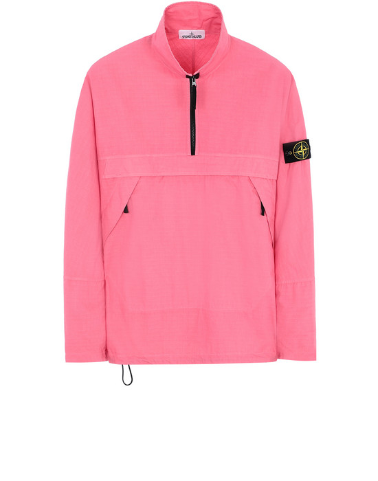 STONE ISLAND 10802 OVER SHIRT Man Cyclamen