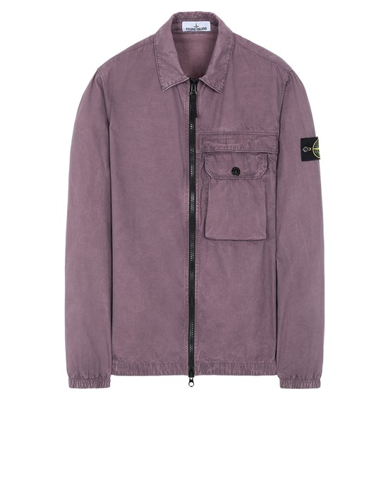 STONE ISLAND 107WN T.CO+OLD OVER SHIRT Man Magenta