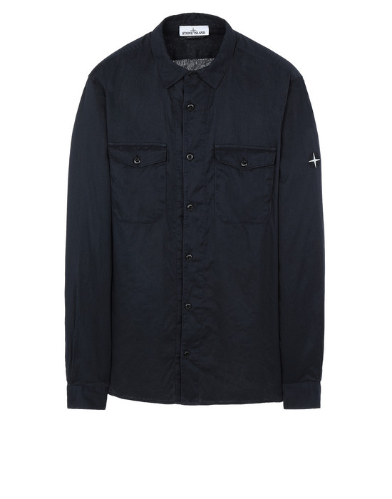 STONE ISLAND 12015 Long sleeve shirt Man Blue