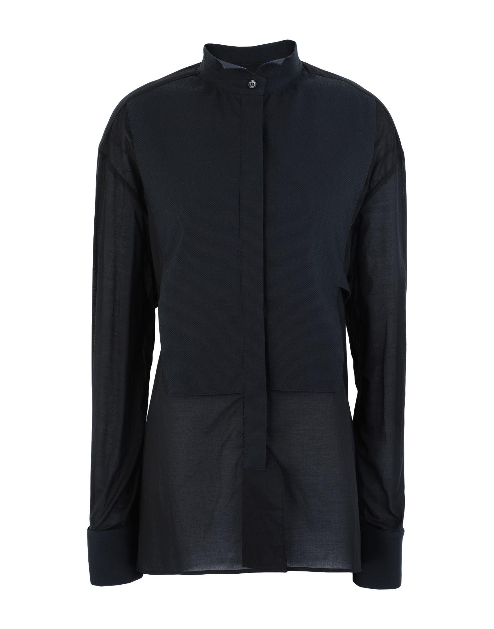 《セール開催中》GOLDEN GOOSE DELUXE BRAND レディース シャツ ブラック S コットン 100%