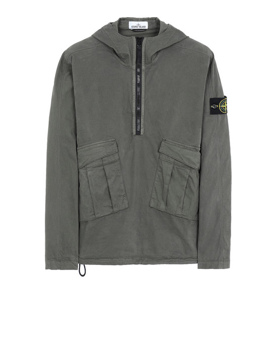 STONE ISLAND 10510 OVER SHIRT Man Musk Green