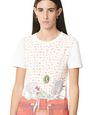 LANVIN Top Woman SHORT-SLEEVED COTTON T-SHIRT WITH BABAR BED PRINT f