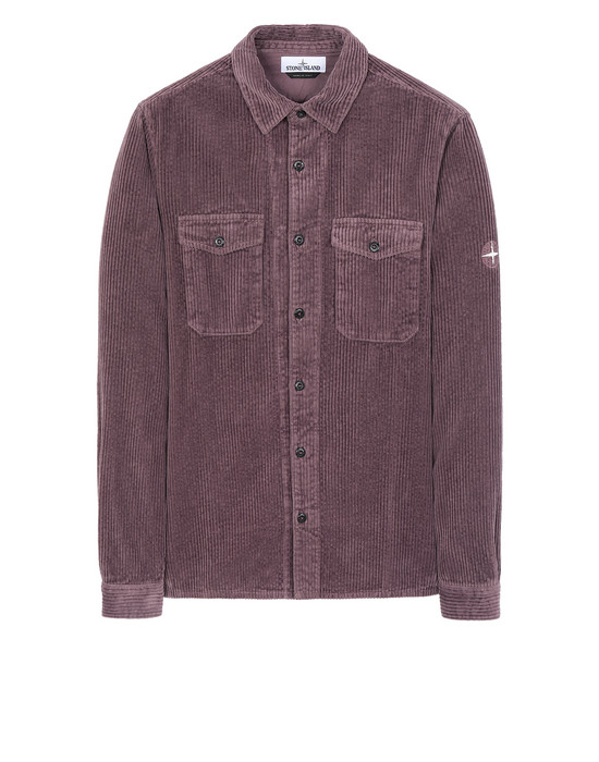 STONE ISLAND 12111 Long sleeve shirt Man Magenta