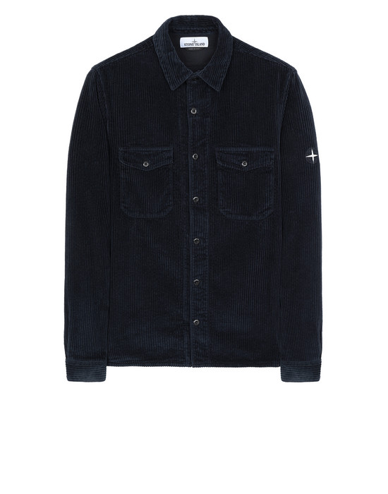 STONE ISLAND 12111 Long sleeve shirt Man Blue